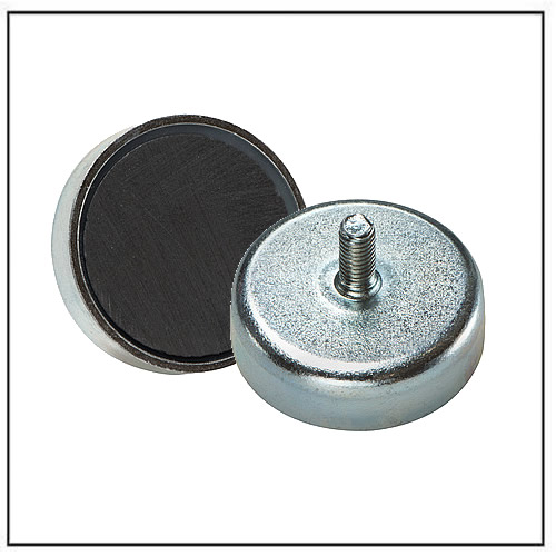 Ferrite Pot Magnets External Thread Magnets By Hsmag