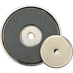 Ferrite ceramic magnetic pot