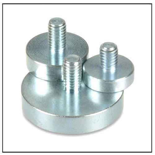 Neodymium Pot Magnets With External Thread Magnets By Hsmag