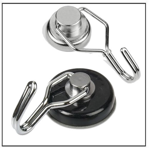 Neodymium Magnetic Hook with Rotating and Swing Hook