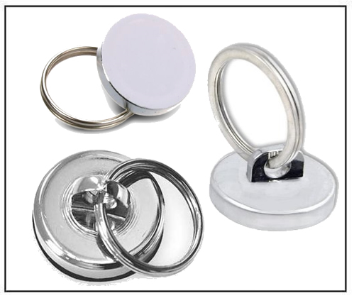 Neodymium Magnetic Hook with Split Ring