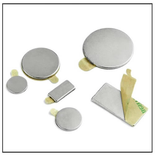 Self-Adhesive Neodymium Magnets