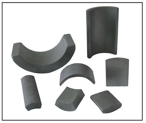 ferrite segment arc magnets