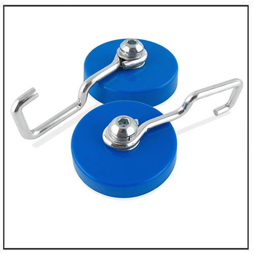 reversible magnetic hook