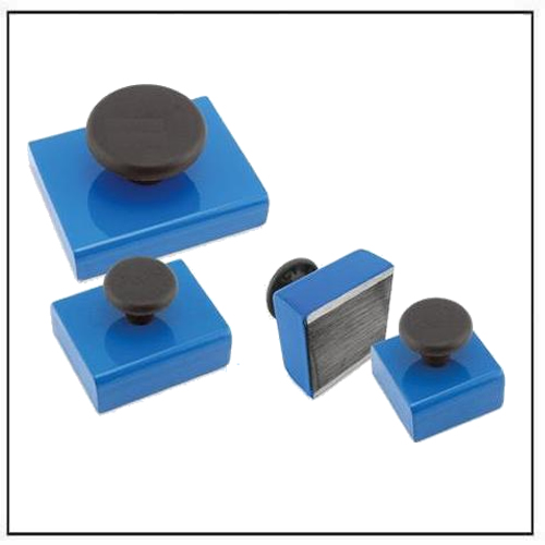 square rectangular magnetic base with knob
