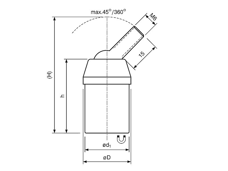 deep-pot-holding-magnet-ndfeb-with-ball-joint