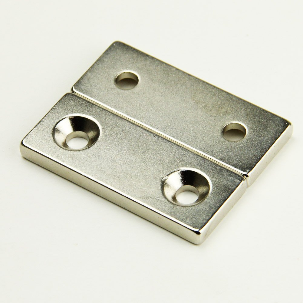 Magnet from holes