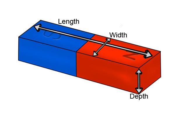 dimensions--rectangular-bar-magnets