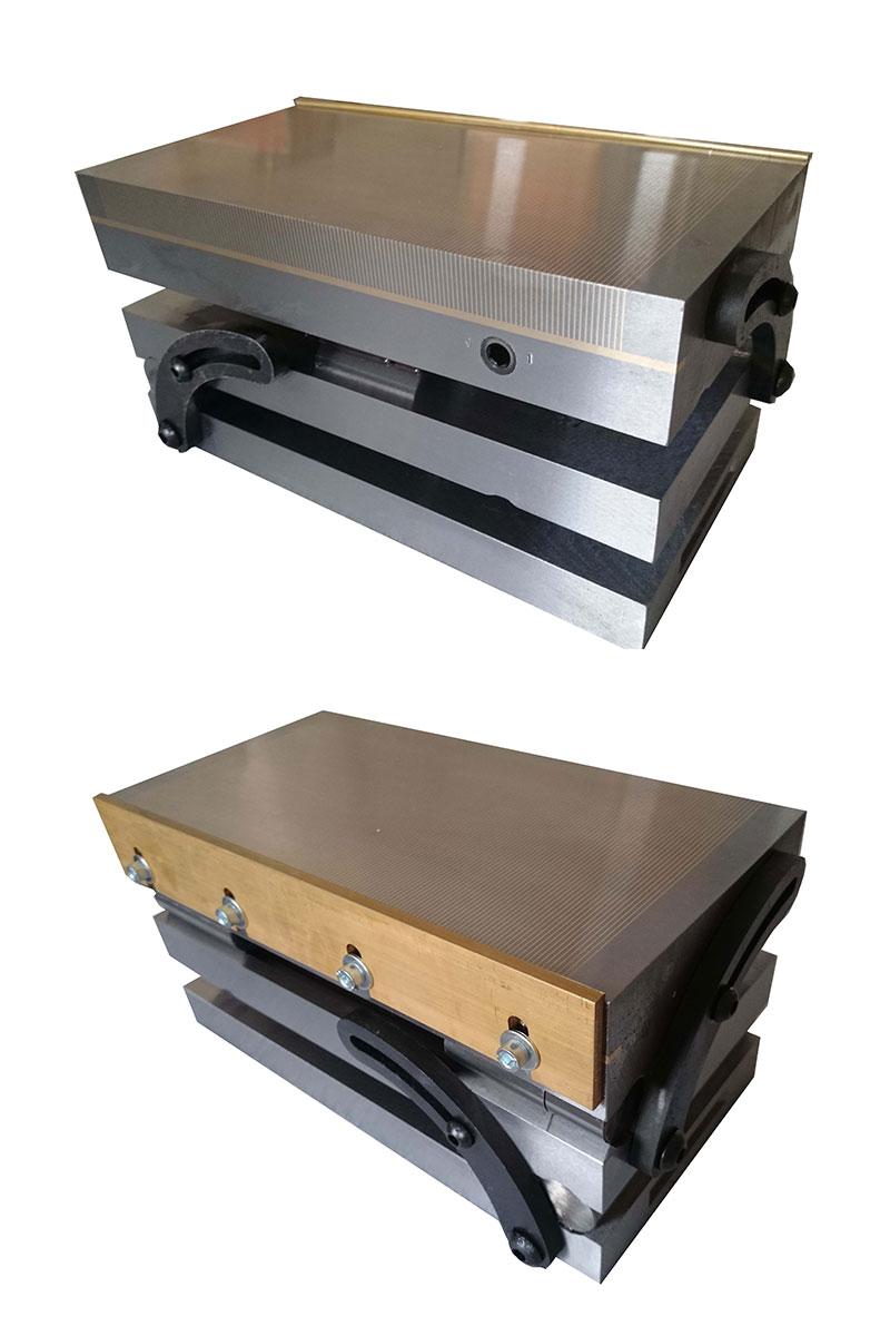 Double Sine Plate Permanent Magnetic Chuck Mcc Series