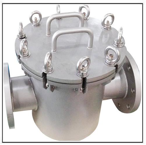 large-liquid-line-trap-magnet-separator