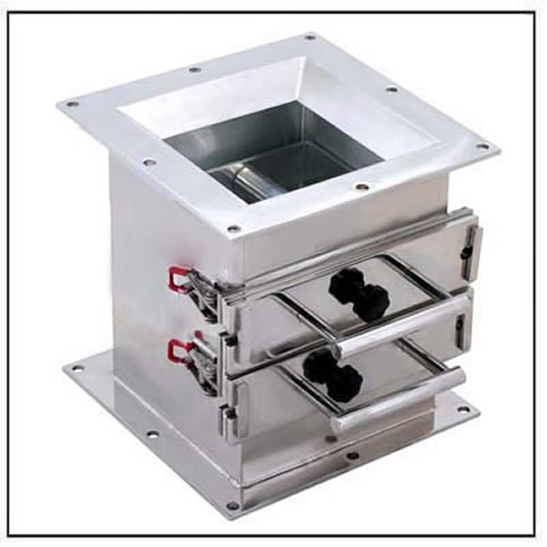 magnetic-drawer-with-square-inlet-and-outlet