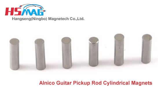 Alnico Guitar Pickup Rod Cylindrical Magnets