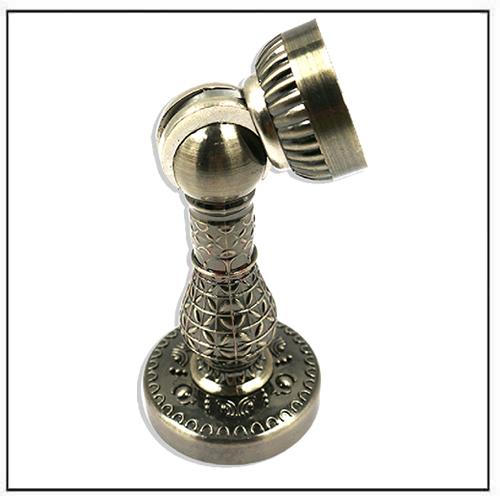 Bronze Retro Design Zinc Alloy Magnetic Door Stop Holder