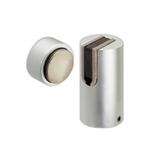 Aluminum round strike base magnetic door holder stopper