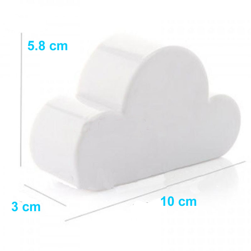 Cloud Shape Magnets Magnetic Key Holder Size Drawing