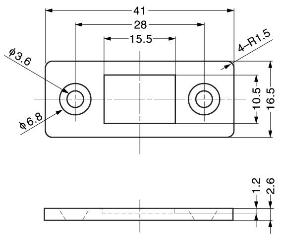 HSMC-U01 Ultra Thin Magnetic Catch