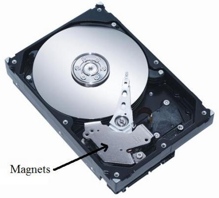 Hard Drive Actuator Motor Magnets