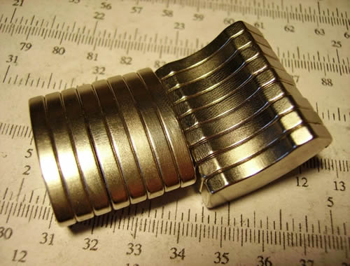 Hdd head actuator rare earth sintered neodymium magnet for Rare earth magnet motor