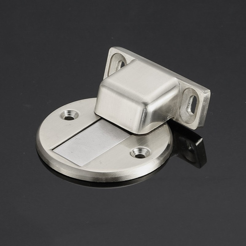 Hidden style door magnetic holder stopper catch with