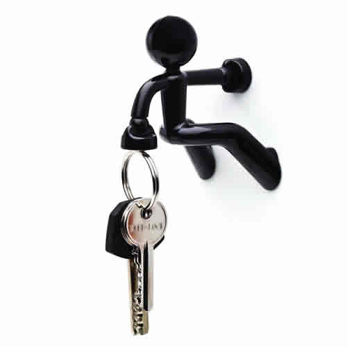 Key Black-Man Magnetic Key Holder