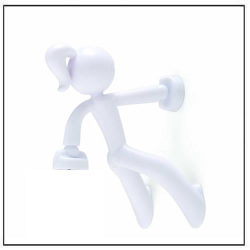 Key Petite - Key Pete Girl Strong Magnetic Key Holder - White