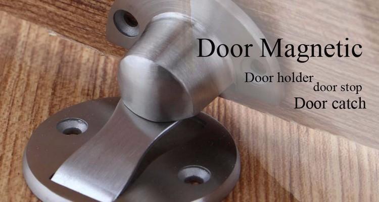 Magnetic Door Stopper Door Stops Holder Floor Suction For Home Or Office.