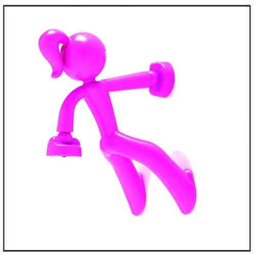 Pink Key Girl Super-Strong Magnetic Key Holder