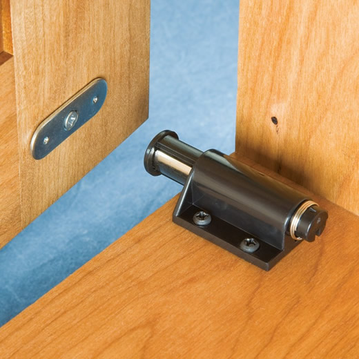 Single Slide Magnetic Touch Latch Magnets By Hsmag