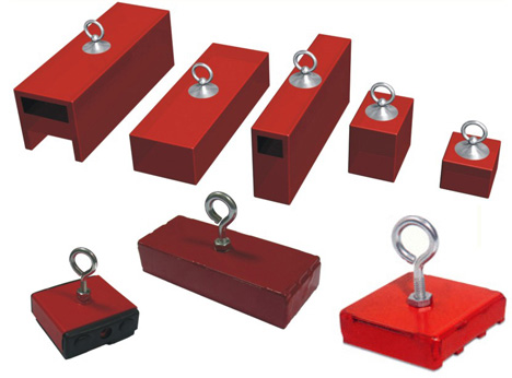 Standard and Common Holding and Retrieving Magnets