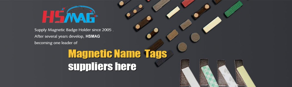 Magnetic Name Badge Supplier - Magnets By HSMAG