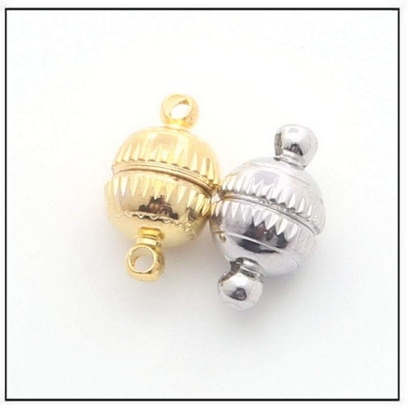round-strong-magnetic-jewelry-clasps