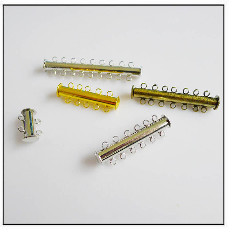 silver-gold-plated-copper-magnetic-slide-lock-clasps