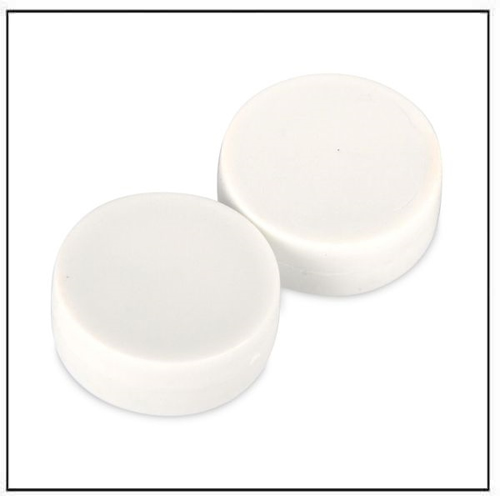 3-4″-dia-x-3-8″-thick-disc-plastic-coated-white-neodymium-magnet