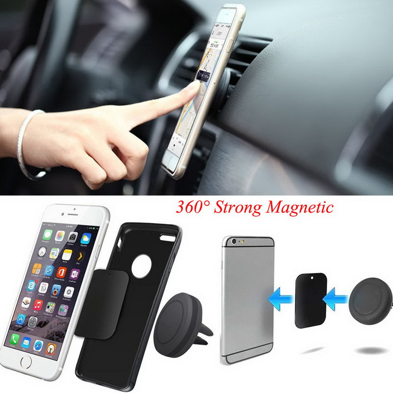 360 Degree Car Air Vent Mount Magnetic Mobile Phone Stand Holder