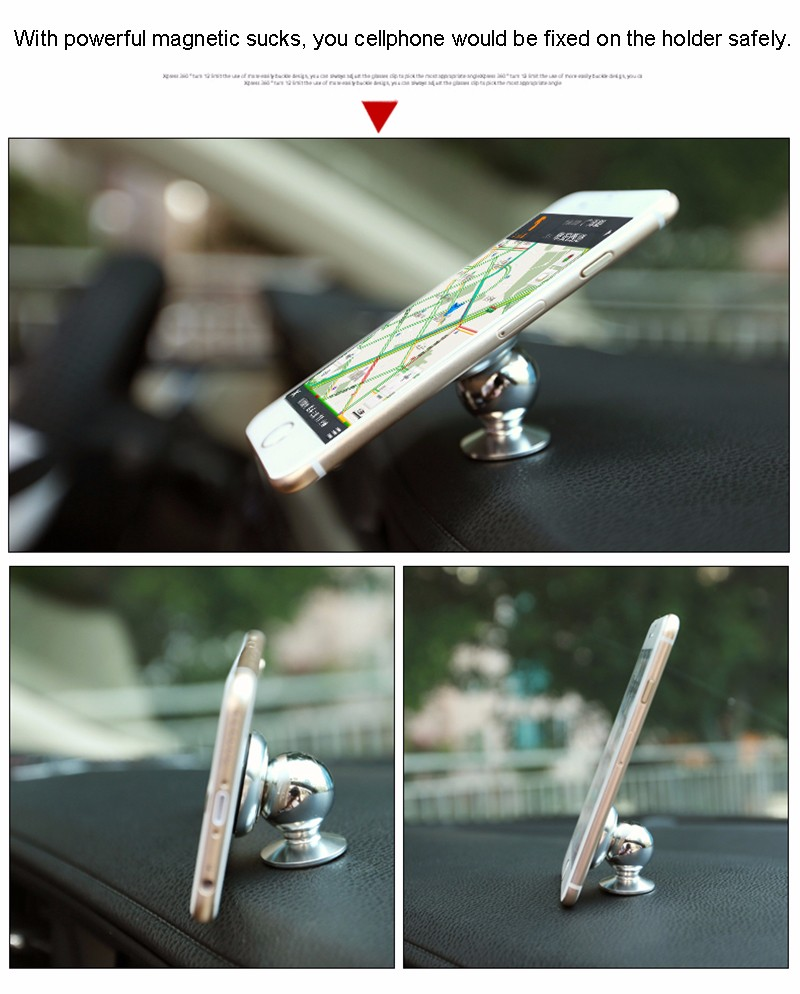 360 Degree Rotation Car Phone Holder Magnet