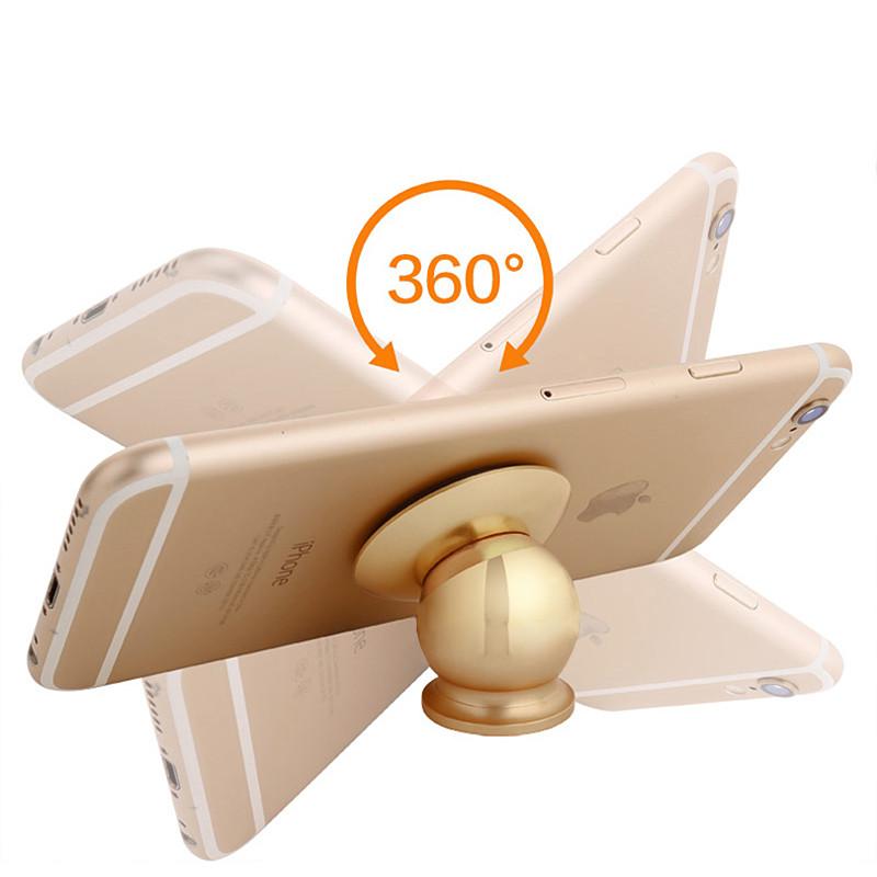 360 Degrees Rotation Universal Magnetic Phone Holder