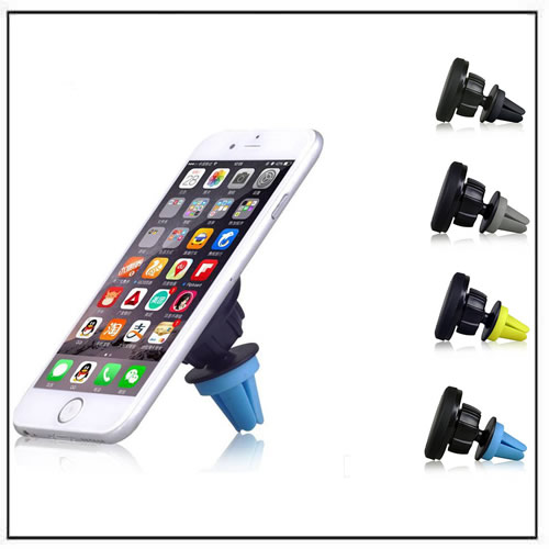 360 Degrees Universal Car Air Vent Mount Magnetic Phone Holder Sticky Stand