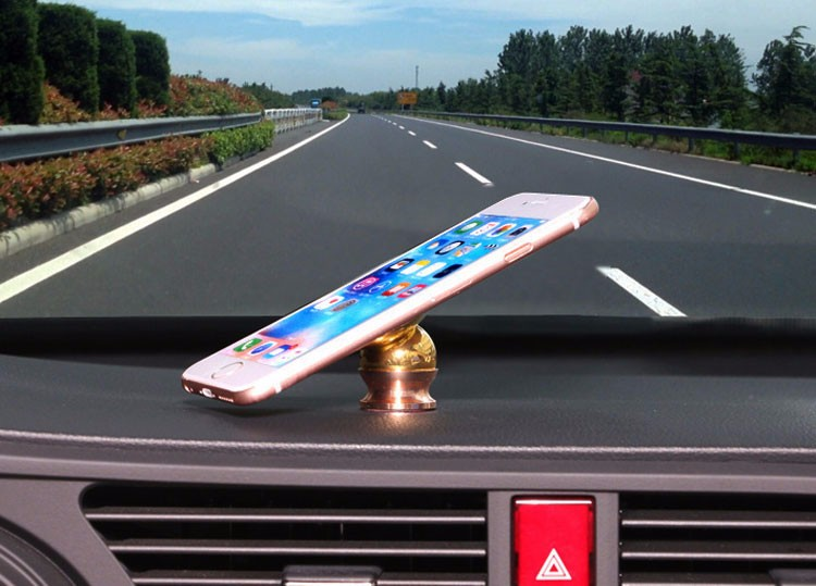 3M Sticker Magnetic Mobile Phone Holder in Car