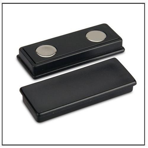 Black Plastic Coated Rectangle Neodymium Magnet