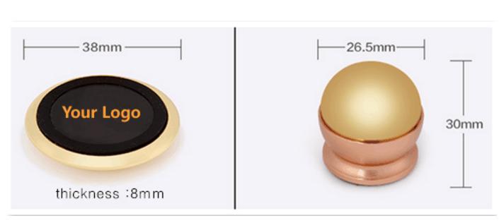 Custom Magnetic Mobile Phone Holder Size