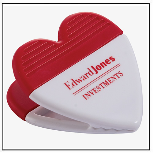 Customer Heart-Shaped Power Clip