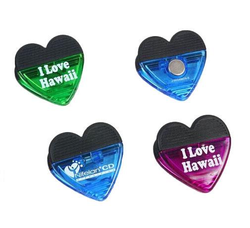 Customized LOGO Heart Magnet Clip Holder