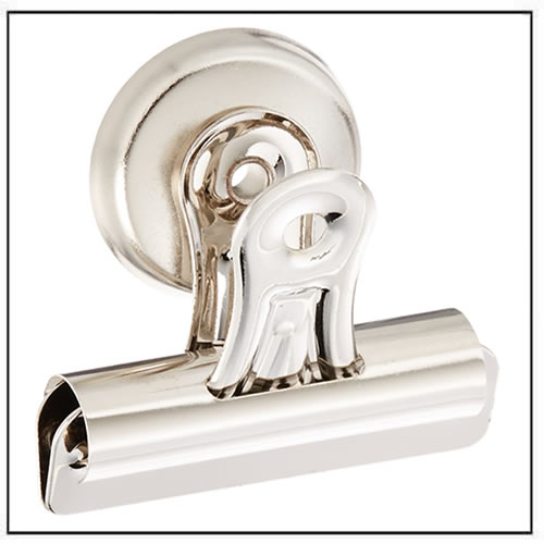 Heavy Duty Metal Refrigerator Magnetic Spring Clips