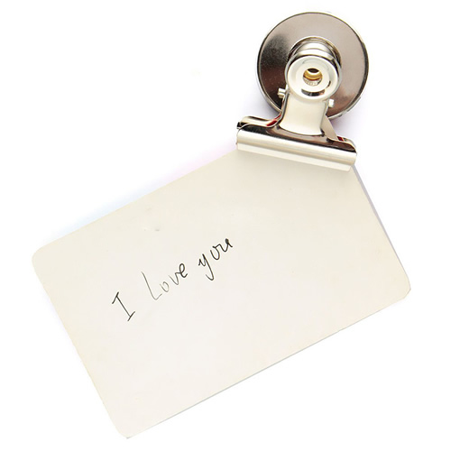 Mini Compact Metal Refrigerator Magnets Spring Clips Home RefrigeratorWall