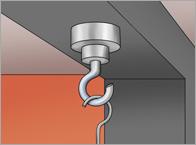 Mounting Magnet Hook