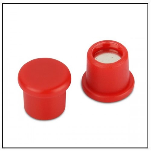 Office Neodymium Magnet with Red Plastic Coating