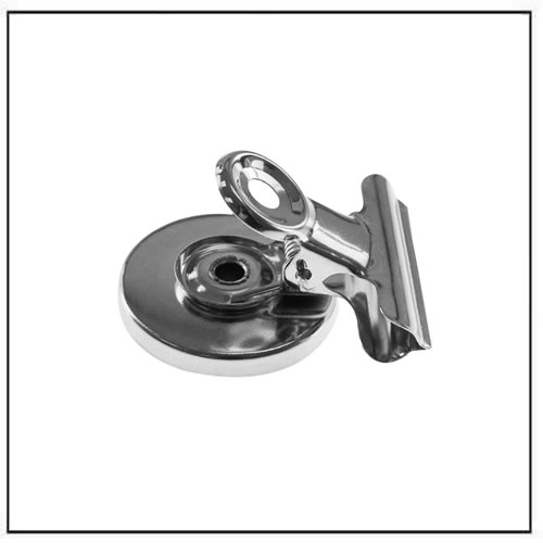 Small Strong Magnetic Spring Clips Clamp