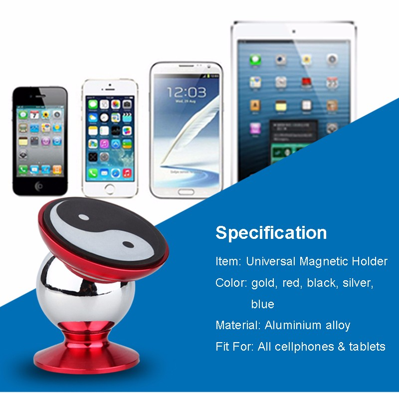 Tai Chi Magnetic Holder Support cellphone holder specification