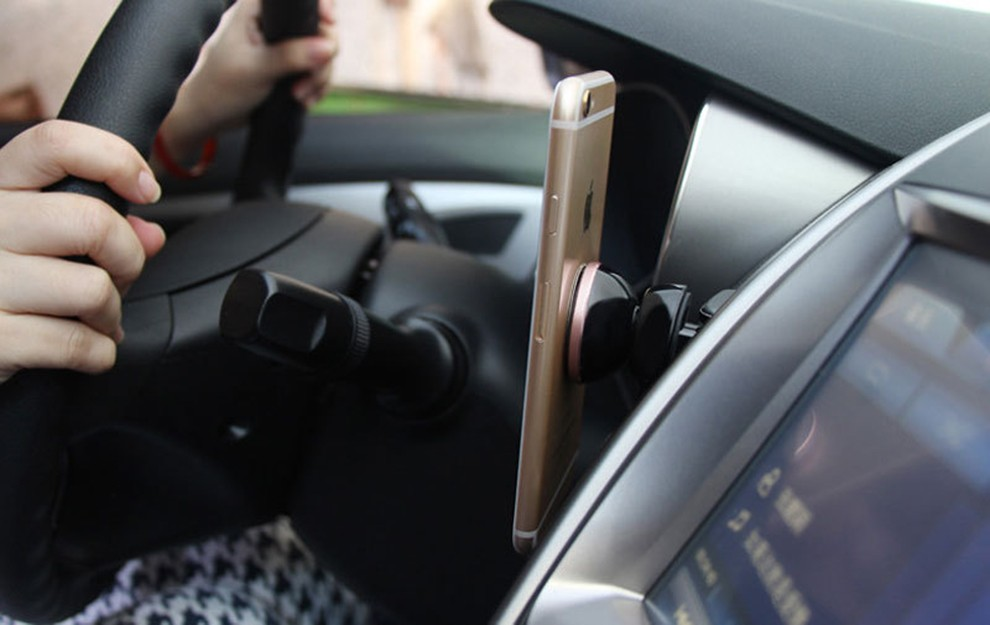 car truck air conditioning outlet magnetic cell phone holder