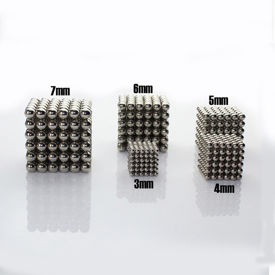 3mm-7mm Metallic Nickel Plated Magnetic Balls